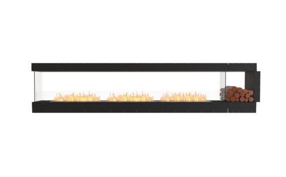 Flex 140PN.BXR Péninsule (trois faces) - Ethanol / Black / Uninstalled View by EcoSmart Fire