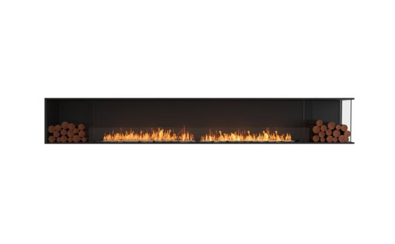 Flex 140RC.BX2 Angle droit - Ethanol / Black / Installed View by EcoSmart Fire