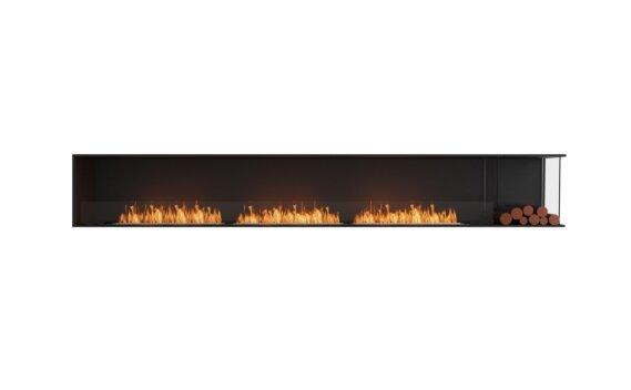 Flex 140RC.BXR Angle droit - Ethanol / Black / Installed View by EcoSmart Fire