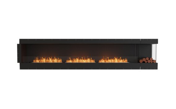 Flex 140RC.BXR Angle droit - Ethanol / Black / Uninstalled View by EcoSmart Fire