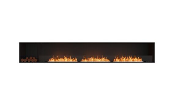 Flex 140SS.BXL Simple face - Ethanol / Black / Installed View by EcoSmart Fire