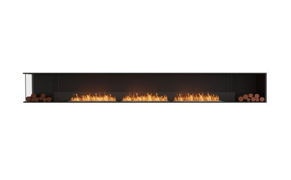 Flex 158LC.BX2 Angle gauche - Ethanol / Black / Installed View by EcoSmart Fire