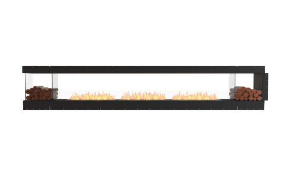 Flex 158PN.BX2 Péninsule (trois faces) - Ethanol / Black / Uninstalled View by EcoSmart Fire
