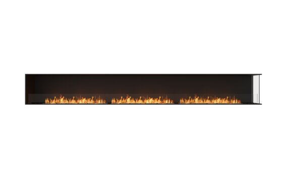 Flex 158RC Angle droit - Ethanol / Black / Installed View by EcoSmart Fire
