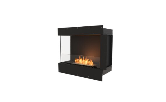 Flex 32LC Angle gauche - Ethanol / Black / Uninstalled View by EcoSmart Fire