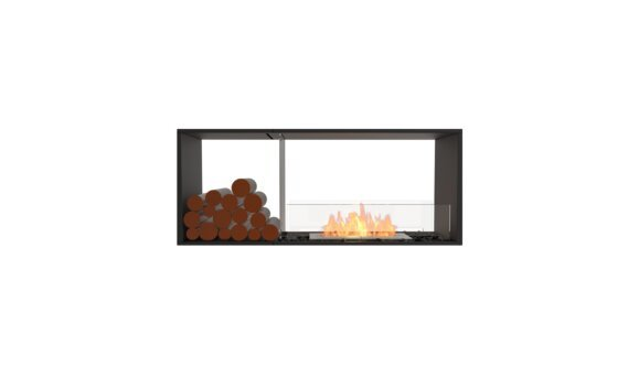 Flex 50DB.BX1 Double face - Ethanol / Black / Installed View by EcoSmart Fire