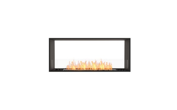 Flex 50DB Double face - Ethanol / Black / Installed View by EcoSmart Fire