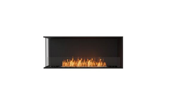 Flex 50LC Angle gauche - Ethanol / Black / Installed View by EcoSmart Fire