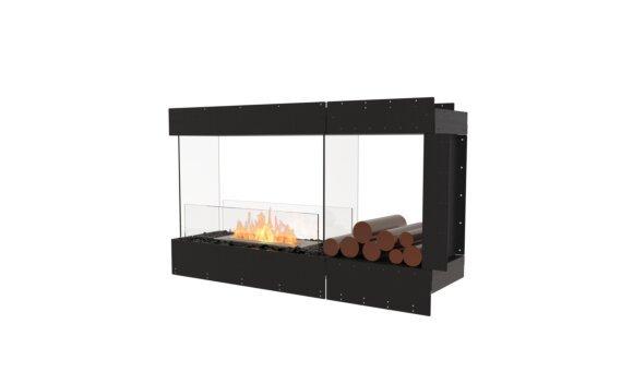 Flex 50PN.BXR Péninsule (trois faces) - Ethanol / Black / Uninstalled View by EcoSmart Fire
