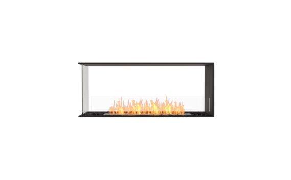 Flex 50PN Péninsule (trois faces) - Ethanol / Black / Installed View by EcoSmart Fire