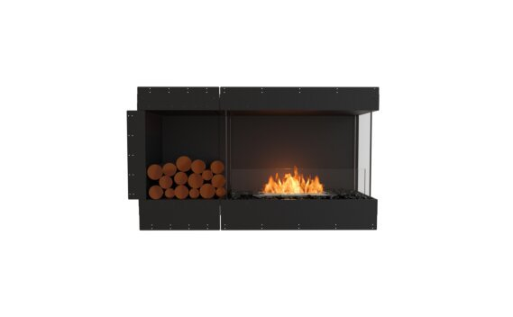 Flex 50RC.BXL Angle droit - Ethanol / Black / Uninstalled View by EcoSmart Fire