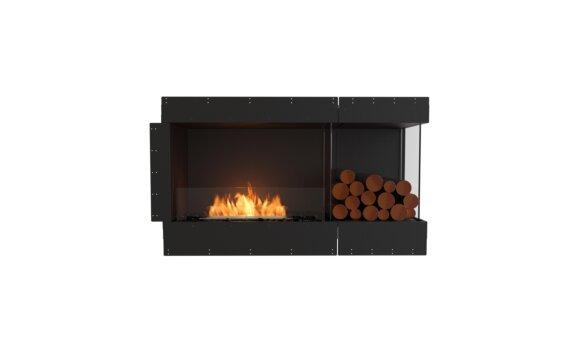 Flex 50RC.BXR Angle droit - Ethanol / Black / Uninstalled View by EcoSmart Fire