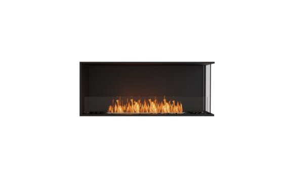 Flex 50RC Angle droit - Ethanol / Black / Installed View by EcoSmart Fire