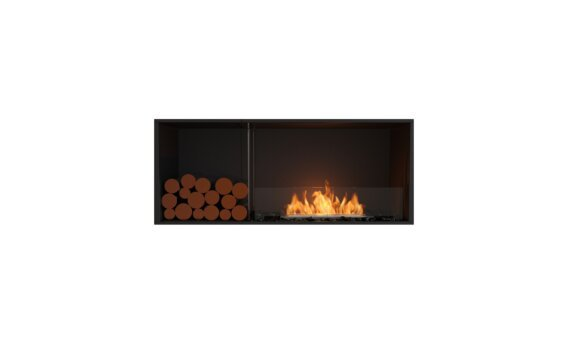 Flex 50SS.BXL Simple face - Ethanol / Black / Installed View by EcoSmart Fire