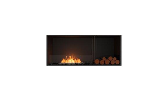 Flex 50SS.BXR Simple face - Ethanol / Black / Installed View by EcoSmart Fire