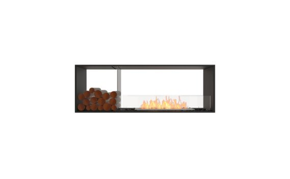 Flex 60DB.BX1 Double face - Ethanol / Black / Installed View by EcoSmart Fire