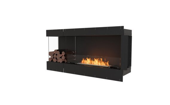 Flex 60LC.BXL Angle gauche - Ethanol / Black / Uninstalled View by EcoSmart Fire