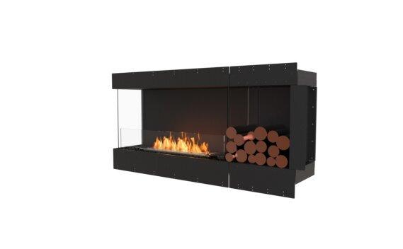 Flex 60LC.BXR Angle gauche - Ethanol / Black / Uninstalled View by EcoSmart Fire