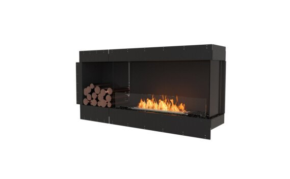 Flex 60RC.BXL Angle droit - Ethanol / Black / Uninstalled View by EcoSmart Fire