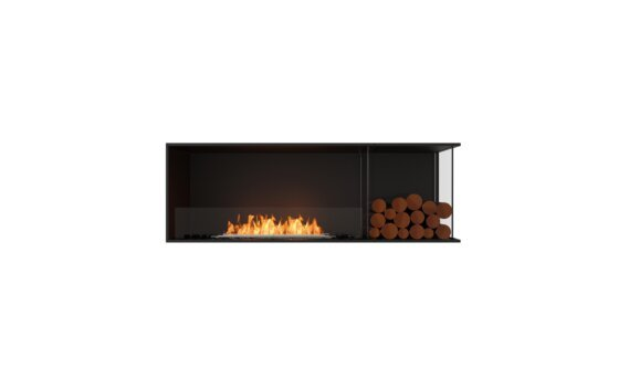 Flex 60RC.BXR Angle droit - Ethanol / Black / Installed View by EcoSmart Fire