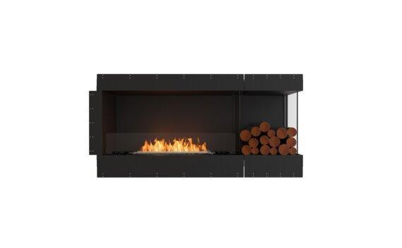 Flex 60RC.BXR Angle droit - Ethanol / Black / Uninstalled View by EcoSmart Fire