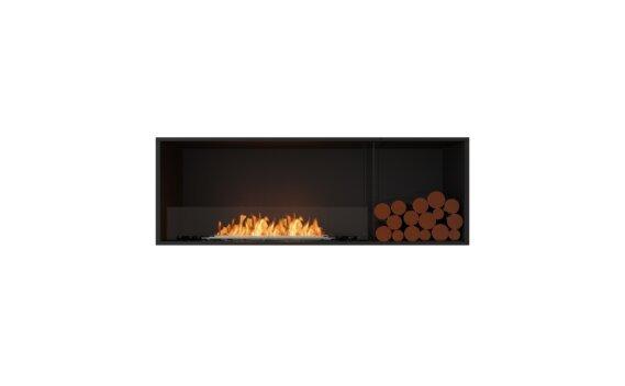 Flex 60SS.BXR Simple face - Ethanol / Black / Installed View by EcoSmart Fire