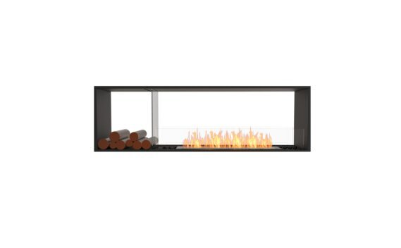 Flex 68DB.BX1 Double face - Ethanol / Black / Installed View by EcoSmart Fire