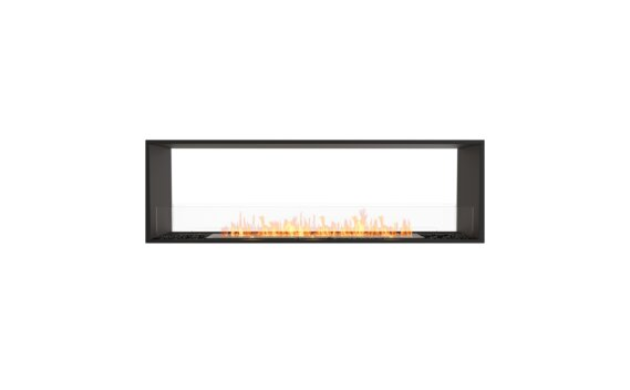 Flex 68DB Double face - Ethanol / Black / Installed View by EcoSmart Fire