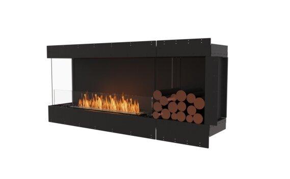 Flex 68LC.BXR Angle gauche - Ethanol / Black / Uninstalled View by EcoSmart Fire