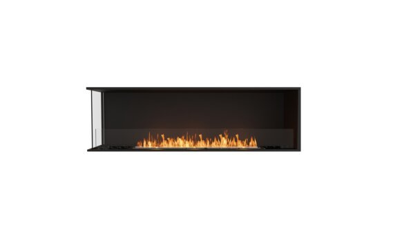 Flex 68LC Angle gauche - Ethanol / Black / Installed View by EcoSmart Fire