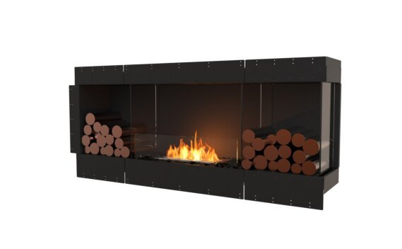Flex 68RC.BX2 Angle droit - Ethanol / Black / Uninstalled View by EcoSmart Fire