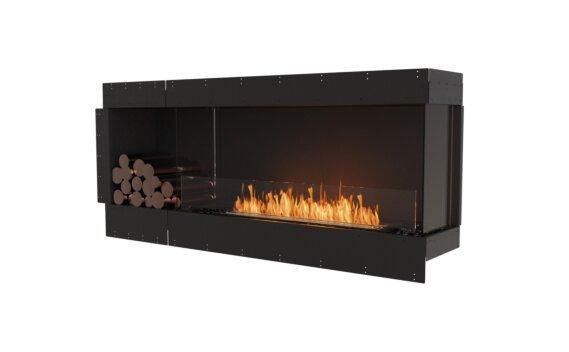 Flex 68RC.BXL Angle droit - Ethanol / Black / Uninstalled View by EcoSmart Fire