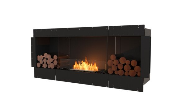 Flex 68SS.BX2 Simple face - Ethanol / Black / Uninstalled View by EcoSmart Fire