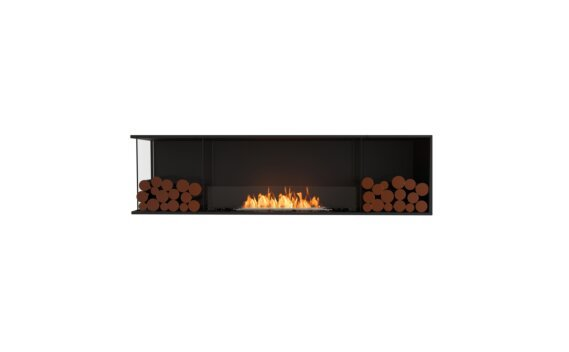Flex 78LC.BX2 Angle gauche - Ethanol / Black / Installed View by EcoSmart Fire