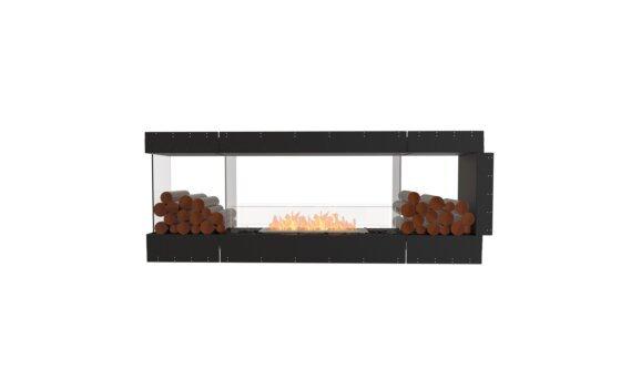 Flex 78PN.BX2 Péninsule (trois faces) - Ethanol / Black / Uninstalled View by EcoSmart Fire