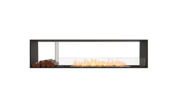 Flex 86DB.BX1 Double face - Ethanol / Black / Installed View by EcoSmart Fire