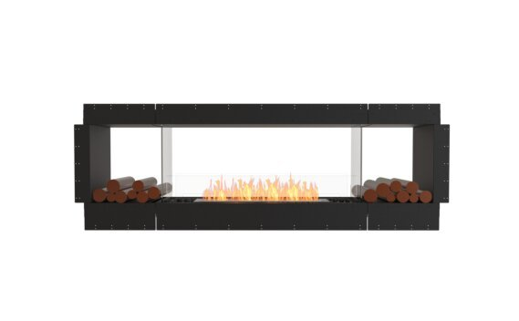 Flex 86DB.BX2 Double face - Ethanol / Black / Uninstalled View by EcoSmart Fire