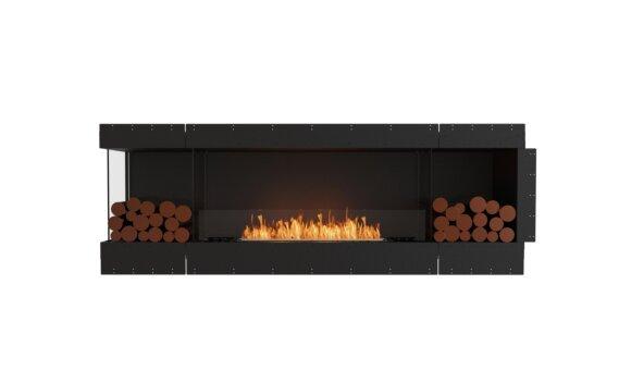 Flex 86LC.BX2 Angle gauche - Ethanol / Black / Uninstalled View by EcoSmart Fire