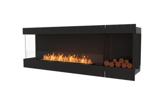 Flex 86LC.BXR Angle gauche - Ethanol / Black / Uninstalled View by EcoSmart Fire