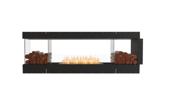 Flex 86PN.BX2 Péninsule (trois faces) - Ethanol / Black / Uninstalled View by EcoSmart Fire