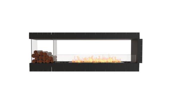 Flex 86PN.BXL Péninsule (trois faces) - Ethanol / Black / Uninstalled View by EcoSmart Fire
