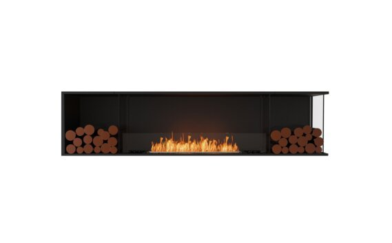 Flex 86RC.BX2 Angle droit - Ethanol / Black / Installed View by EcoSmart Fire