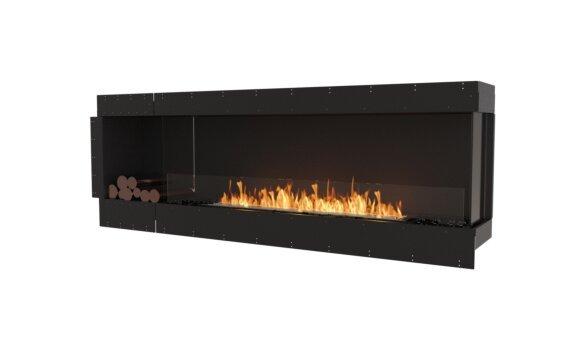 Flex 86RC.BXL Angle droit - Ethanol / Black / Uninstalled View by EcoSmart Fire