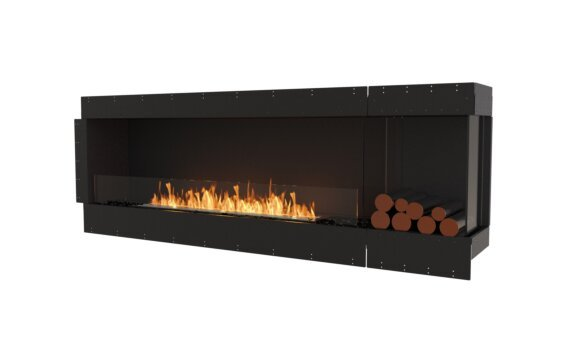 Flex 86RC.BXR Angle droit - Ethanol / Black / Uninstalled View by EcoSmart Fire