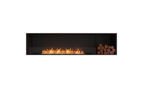 Flex 86SS.BXR Simple face - Ethanol / Black / Installed View by EcoSmart Fire