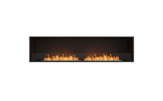 Flex 86SS Simple face - Ethanol / Black / Installed View by EcoSmart Fire