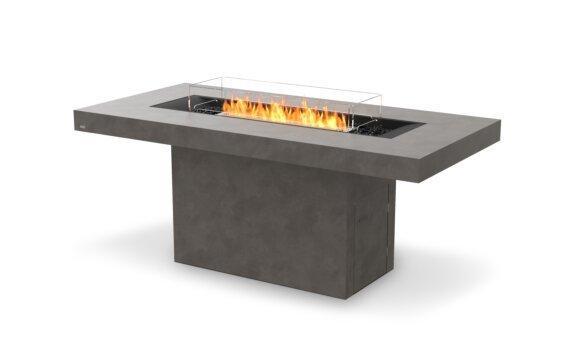 Gin 90 (Bar) Tables extérieure - Ethanol / Natural / Optional Fire Screen by EcoSmart Fire