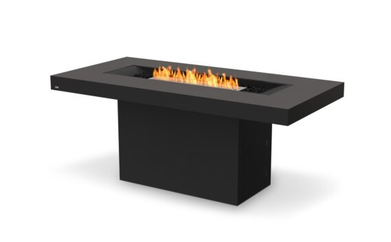 Gin 90 (Bar) Tables extérieure - Ethanol / Graphite by EcoSmart Fire