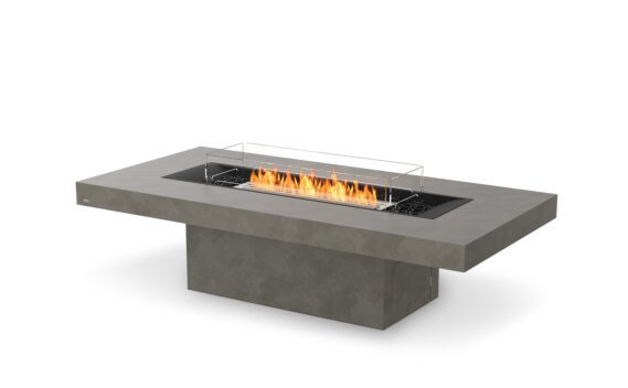 Gin 90 (Chat) Tables extérieure - Ethanol / Natural / Optional Fire Screen by EcoSmart Fire