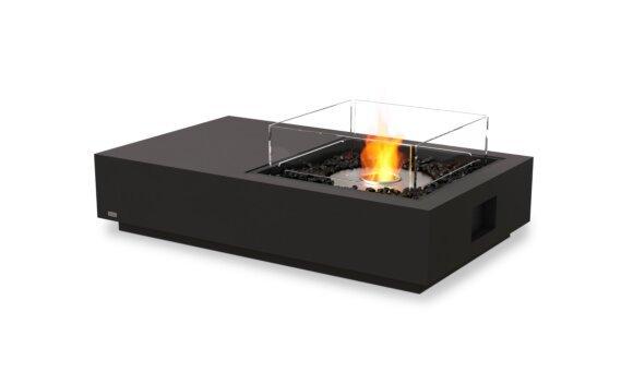 Manhattan 50 Tables extérieure - Ethanol / Graphite / Optional Fire Screen by EcoSmart Fire